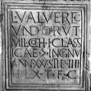 Römischer Grabstein