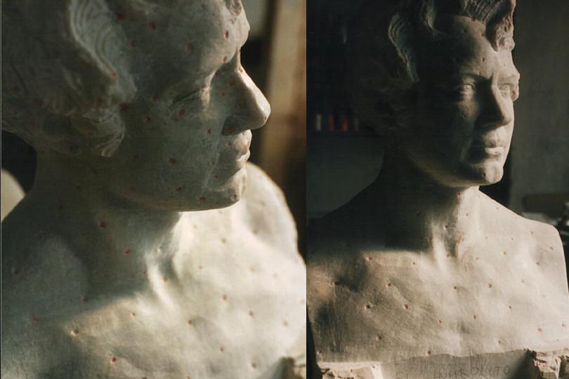 Humboldt Portrait nach C.D. Rauch
